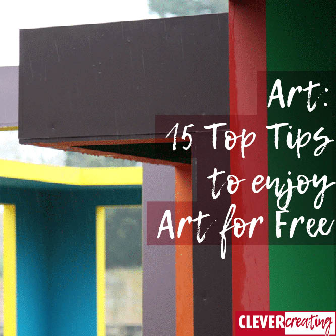 Art: 15 Top Tips to enjoy Art for Free