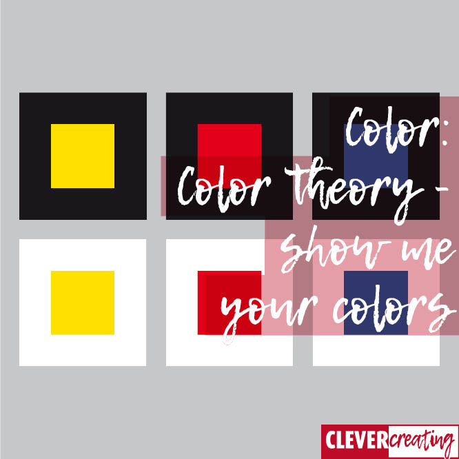 Color theory - show me your colors